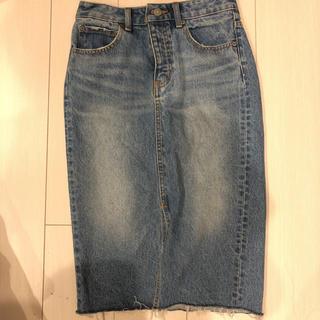 アズールバイマウジー(AZUL by moussy)のAZUL スカート Mサイズ(ひざ丈スカート)