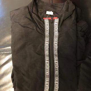 シュプリーム(Supreme)の早い者勝ち‼️supreme track jacket 黒(ナイロンジャケット)