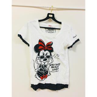 シマムラ(しまむら)のTシャツ ミニーちゃん(Tシャツ(半袖/袖なし))