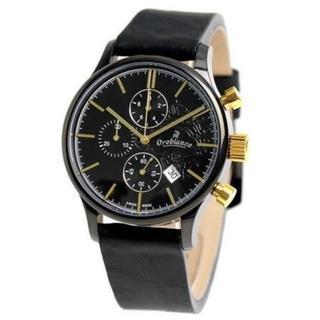 オロビアンコ(Orobianco)の新品☆ 3.7万 Orobianco TIMEORA オロビアンコ クロノグラフ(腕時計(アナログ))