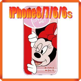 ディズニー(Disney)の★180713★ ミニー iPhone 7/8 ソフトケース ★(iPhoneケース)