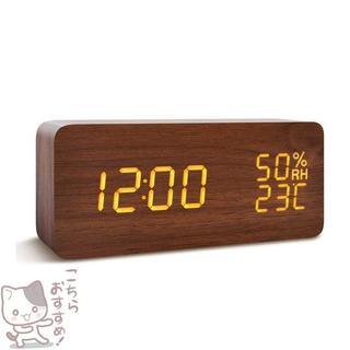 目覚し時計 大音量 デジタル 置き時計 FIBISO(置時計)