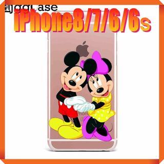 ディズニー(Disney)の★180716★ ミッキー & ミニー iPhone 8/7/6/6sケース ★(iPhoneケース)