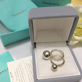 Tiffany & Co. - TIFFNY新作ハードウェアボールリング