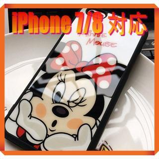 ディズニー(Disney)の★180737★ ミニー iPhone 7/8 ソフトケース ★(iPhoneケース)