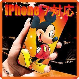 ディズニー(Disney)の★180710★ ミッキー マウス iPhone 7 ソフトケース ★(iPhoneケース)