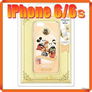 ディズニー(Disney)の★180739★ ミッキー & ミニー ♪iPhone6/6s♪ミラー付ケース★(iPhoneケース)