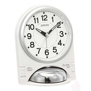 セイコー クロック 目覚まし時計 アナログ 大音量 切替式 アラーム(置時計)