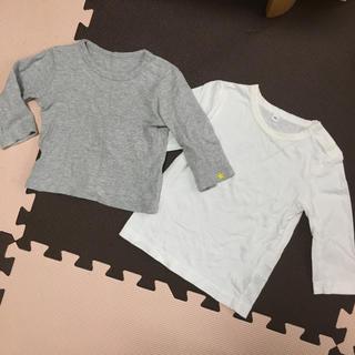 MUJI (無印良品) - ユニクロ 無印良品 ロンT 80 まとめ売り