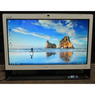 ソニー(SONY)のSONY Win10 一体型パソコン core i5 地上波 4G 1TB BD(デスクトップ型PC)