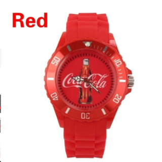 コカコーラ(コカ・コーラ)のコカ・コーラ【送込】アナログレザーバンドウォッチ(腕時計(アナログ))