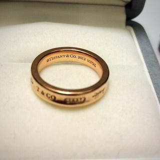 ティファニー(Tiffany & Co.)のTIFFNYナローリング ルベドメタル(リング(指輪))
