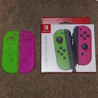 Nintendo Switch - Nintendo switch ジョイコン ネオンピンク ネオングリーン