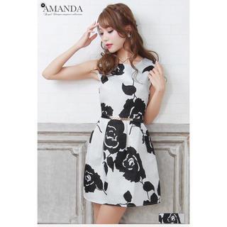 アマンダウェイクリー(Amanda Wakeley)のAMANDA 薔薇 ドレス(ミニドレス)