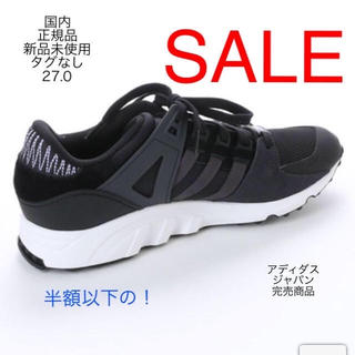 アディダス(adidas)のoriginals EQT SUPPORT RF Black 27.0 cm  (スニーカー)