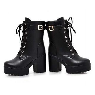 【激安特価♪】厚底+11cm レディースショート ブーツ(ブーツ)