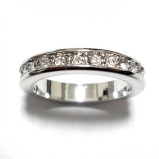 6号 スワロフスキー フルエタニティ シルバーリング(リング(指輪))