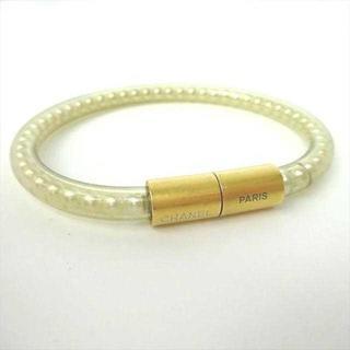 シャネル(CHANEL)のシャネル CHANEL ブレスレット ゴールド パール 真珠 CCパール1245(ブレスレット/バングル)