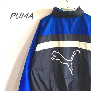プーマ(PUMA)のプーマ ナイロンジャケット 黒 I-16(ナイロンジャケット)