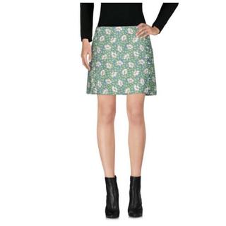 マルニ(Marni)の【美品】MARNI フラワーテキスタイル ミニスカート(ミニスカート)