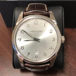 ハミルトン(Hamilton)のハミルトン ジャズマスター シンライン 42mm シルバーダイアル(腕時計(アナログ))