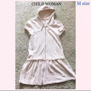 チャイルドウーマン(CHILD WOMAN)の112. CHILD WOMAN (チャイルドウーマン) パーカーワンピース(パーカー)