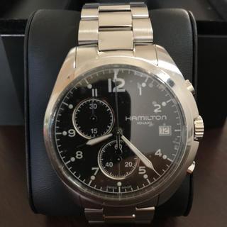 ハミルトン(Hamilton)のハミルトン カーキ パイロット パイロット クロノ(腕時計(アナログ))