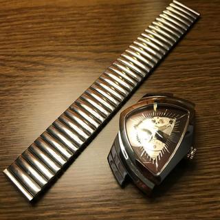 ハミルトン(Hamilton)のハミルトンベンチュラオート用蛇腹ベルト新品未使用 ラスト1本(腕時計(アナログ))