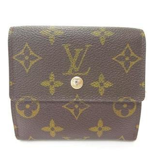ルイヴィトン(LOUIS VUITTON)のルイヴィトン ヴィトン 折り財布 財布 Wホック モノグラム(財布)