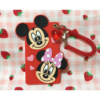 Disney - Disney ミッキー ミニー パスポート 定期入れ