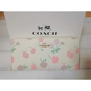 コーチ(COACH)の新品!エレガント花柄  コーチ長財布 時間限定出品!(財布)