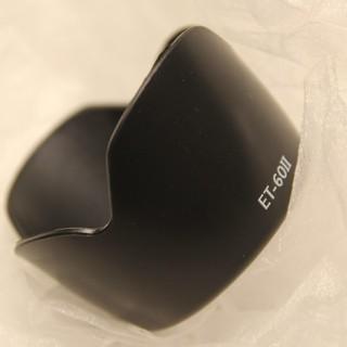 Canon レンズフード ET-60Ⅱ 互換品 新品未使用(その他)