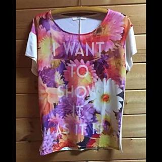 アズールバイマウジー(AZUL by moussy)のAZUL  Tシャツ【レディースSサイズ】(Tシャツ(半袖/袖なし))