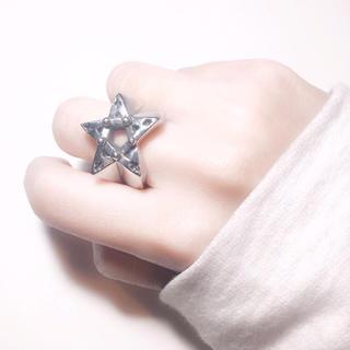星 ステンレスリング(リング(指輪))