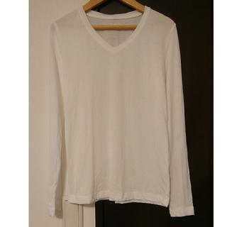 ムジルシリョウヒン(MUJI (無印良品))の無印良品  オーガニック Vネック 長袖 Tシャツ(Tシャツ(長袖/七分))