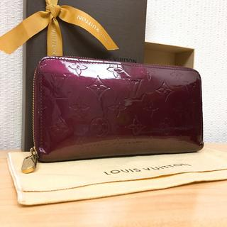 ルイヴィトン(LOUIS VUITTON)の☆美品☆ルイ ヴィトン ジッピーウォレット ルージュフォーヴィスト 財布(財布)