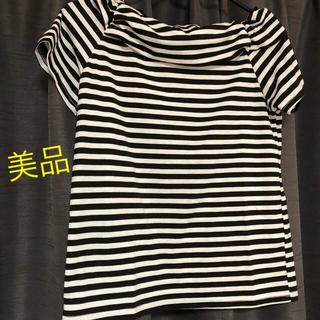 オリーブデオリーブ(OLIVEdesOLIVE)の【美品】オリーブオリーブボーダーTシャツ(Tシャツ(半袖/袖なし))