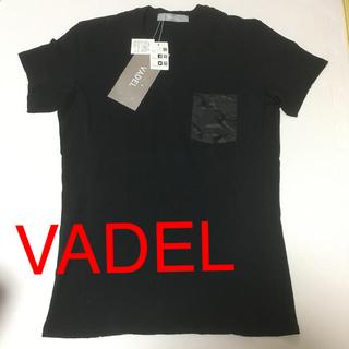 ダブルジェーケー(wjk)の新品 タグ付き vadel  Tシャツ Mサイズ(Tシャツ/カットソー(半袖/袖なし))