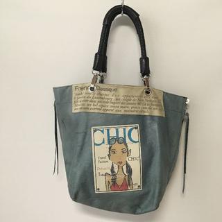 アッシュペーフランス(H.P.FRANCE)のフランス製 barbara rihl バーバラリール ハンドバッグ USED(ハンドバッグ)