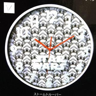 セガ(SEGA)の新品 スターウォーズ プレミアムウォールクロック  ストームトルーパー(掛時計/柱時計)