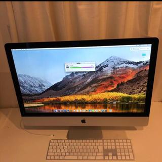 アップル(Apple)の最終値下 新品同様 iMac 2017 27インチ 512SSD i7 7700(デスクトップ型PC)