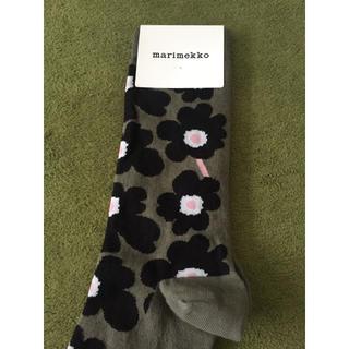 マリメッコ(marimekko)のマリメッコ 新品 靴下(ソックス)