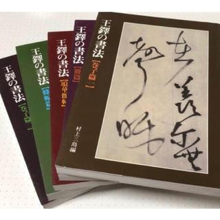 新品 王たくの書法 二玄社 村上三島 編 5冊 完 希少品(文学/小説)
