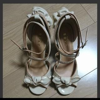 アクシーズファム(axes femme)のaxes femme(未使用)【最終値下げ!】姫系 靴(ハイヒール/パンプス)