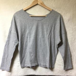 アズールバイマウジー(AZUL by moussy)の【未使用】アズールバイマウジー 2wayTシャツ Sサイズ(カットソー(長袖/七分))