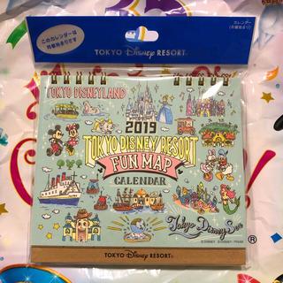 Disney - 新作☆ ディズニーリゾート 卓上カレンダー 2019