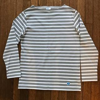 オーシバル(ORCIVAL)のオーシバル ボーダーTシャツ  サイズ1(Tシャツ(長袖/七分))