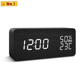 デジタル 置き時計 目覚まし時計 FIBISONIC 大音量(置時計)