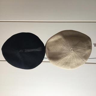 ケービーエフ(KBF)のKBF サーモベレー帽 2色セット(ハンチング/ベレー帽)