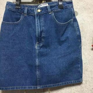 アメリカンアパレル(American Apparel)のAmerican Apparel デニムスカート(ひざ丈スカート)